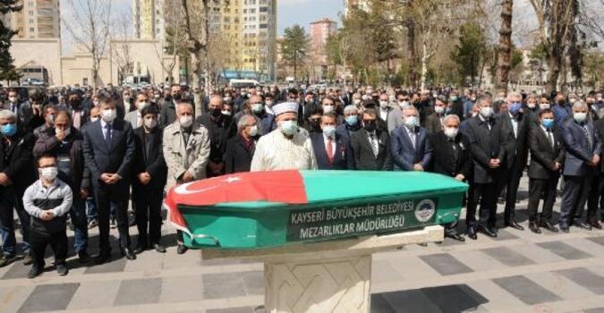 Koronavirüsten ölen KGC Başkanı Altınkaya, son yolculuğuna uğurlandı