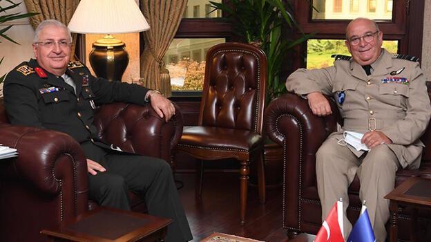 Genelkurmay Başkanı Güler, NATO Askeri Komite Başkanı ile görüştü