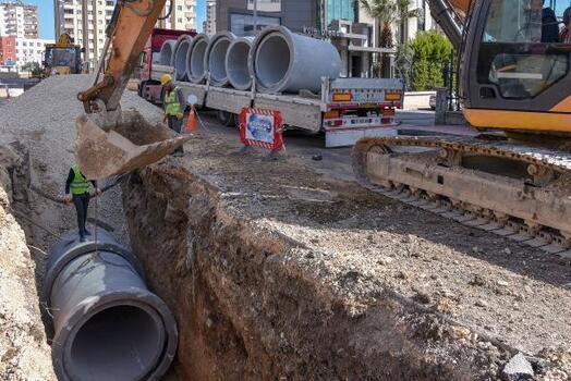MESKİ, yağmur suyu altyapı yatırımlarına devam ediyor