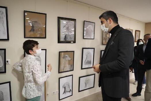 """Başkan Yüksel, """"Sanatsal ve kültürel gelişimleri her zaman destekliyoruz"""""""