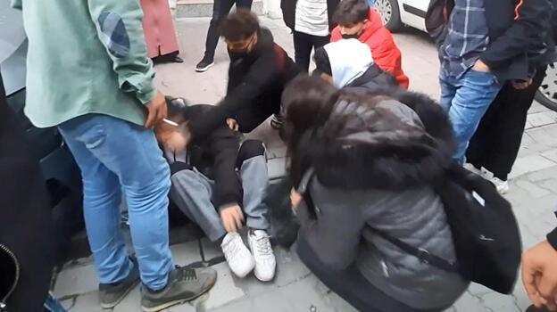 İstanbul'da taciz iddiası! Mahalleli darp etti...