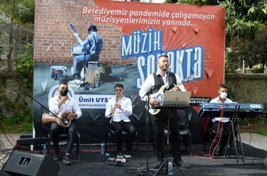 Aydın Kanza Parkı'nda müzik keyfi