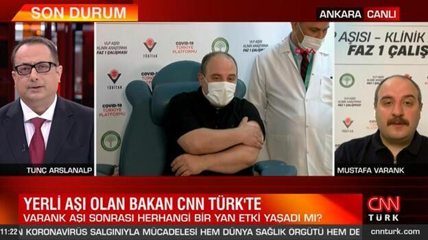 Son dakika... Yerli aşı olan Bakan Varank'tan açıklama! Herhangi bir yan etki yaşadı mı?