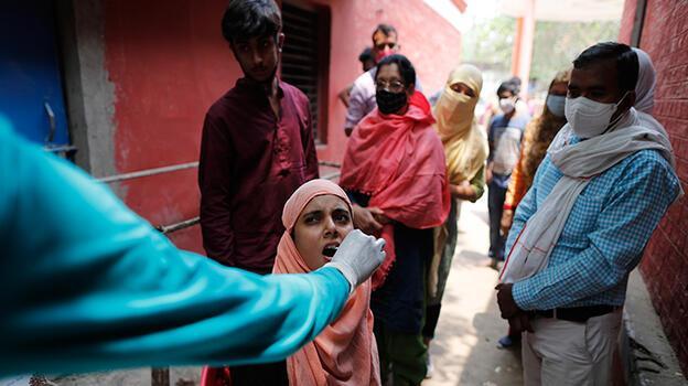 Hindistan'da Kovid-19 destek hattı: 'Git öl, sen zaten cahilsin!'