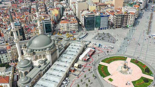 Taksim Meydanı'na yapılan cami ramazanın son cuması ibadete açılıyor