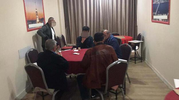 Kırıkkale'de kıraathanede kumara 44 bin lira ceza