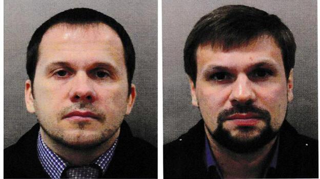 Çek polisi Skripal'i zehirlemekle suçlanan Rusların ismini kullanan iki kişiyi arıyor