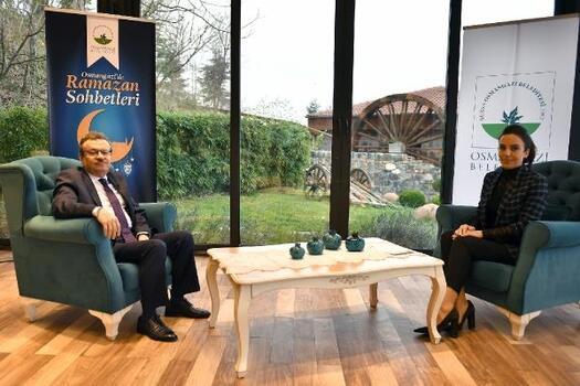 Osmangazi'de Ramazan Sohbetleri programının konuğu Rektör Kılavuz oldu