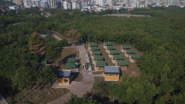 Yıldırım'daki parklarda düzenleme ve yenileme çalışması