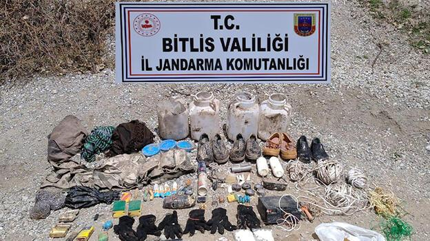 Bitlis'te patlamaya hazır 500 gram TNT kalıbı ele geçirildi!