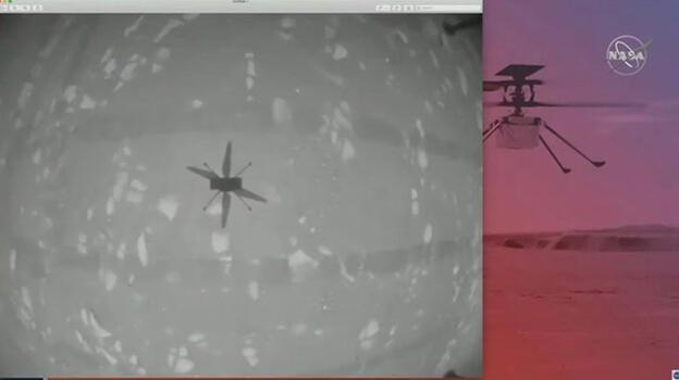 Son dakika: NASA'nın Mars'taki helikopteri başarıyla uçtu!