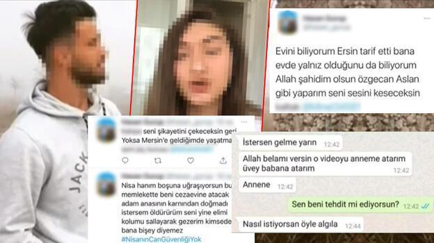 Uygunsuz görüntülerle şantaj! Genç kadına gönderilen mesajlar korkunç