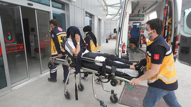 Konya'da bıçaklı saldırıya uğrayan kişi yaralandı