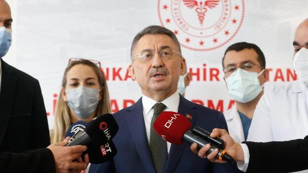 Cumhurbaşkanı Yardımcısı Oktay'dan aşı çalışmalarıyla ilgili açıklama
