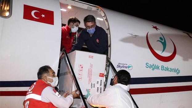 Türkiye'den KKTC'ye 40 bin doz covid-19 aşısı daha gönderildi