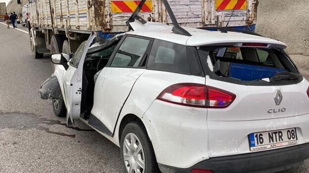 Niğde'de feci kaza! Otomobil sürücüsü ağır yaralandı