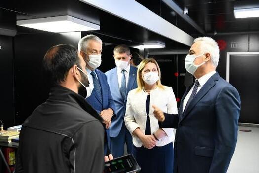 Cumhurbaşkanlığı İletişim Başkanlığı'nın Dijital Tır'ı Isparta'da
