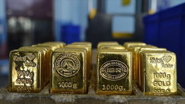 Altının kilogramı 461 bin 200 liraya geriledi