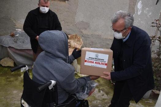 Keşan Belediyesi, Ramazan yardımlarını sürdürüyor