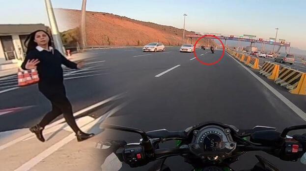 Plakaları sakladılar! Motosikletli sürücülerin ölümle dansı
