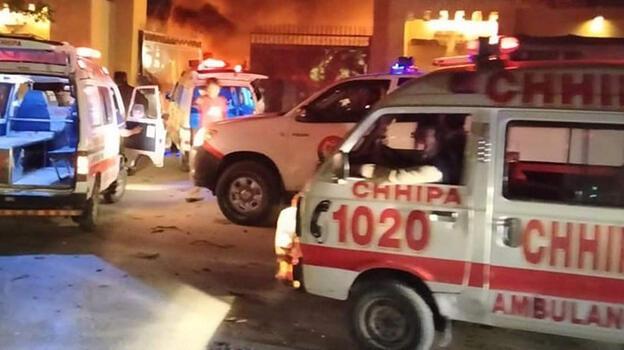 Otel otoparkındaki patlamada ölenlerin sayısı artıyor!