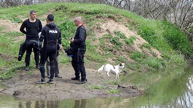 Kayıp yaşlı adamın beslediği köpek, bir an olsun bölgeden ayrılmadı