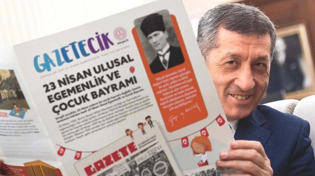 MEB'den çocuklar için '23 Nisan' gazetesi