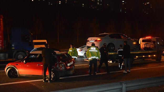 Küçükçekmece'de zincirleme kaza! 7 kişi yaralandı