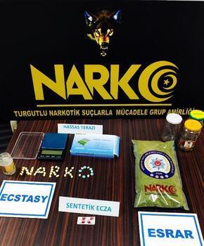 Turgutlu'da uyuşturucu operasyonu: 2 gözaltı