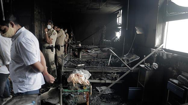 Hindistan'da bir facia daha! Hastane yangını 13 can aldı