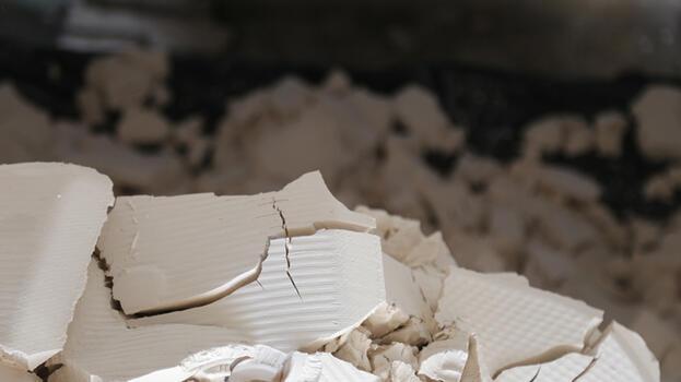 Konya'da mermer atığından gübre üretildi