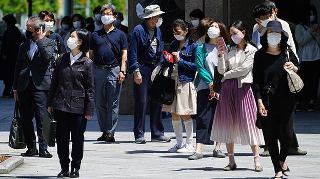 Japonya'da Osaka kentinde OHAL'in uzatılması gündemde