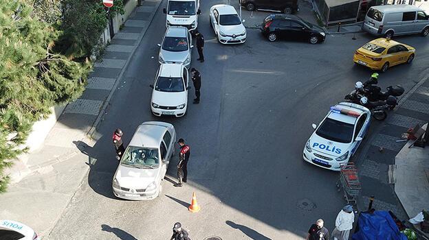 Maltepe'de tam kapanma denetimi! 63 kişiye 217 bin lira ceza