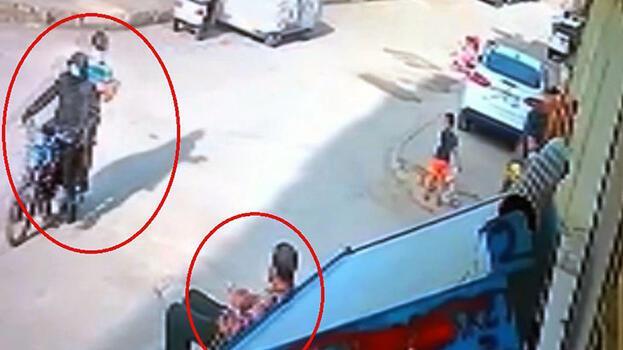 Kaldırımda otururken motosiklettekilerin silahlı saldırısında yaralandı
