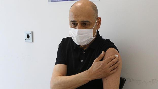 Ankara'da 40 yaş üzeri avukatların aşılanması başladı