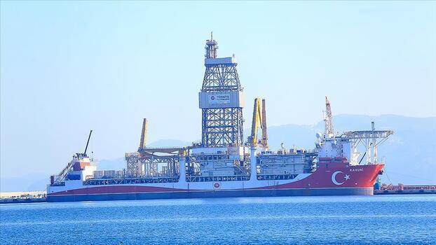 Son dakika: Kanuni Sondaj Gemisi ilk görevi için Karadeniz'e açıldı