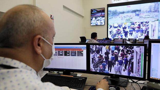 Pandemi kurallarını ihlal edenler 'dijital göz'den kaçmıyor