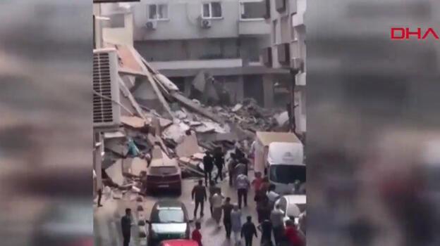 Son dakika haberi... Zeytinburnu'nda bina çöktü