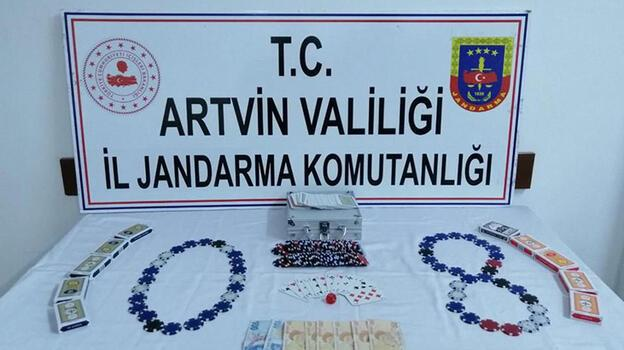 Eve kumar baskınında 7 kişiye, 33 bin 635 lira ceza