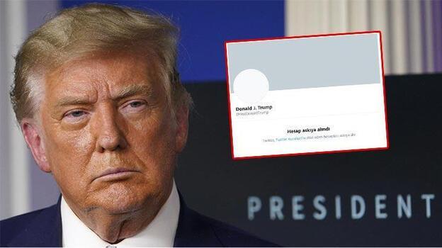 Son dakika... Twitter, Trump'ın açıklamalarını yayımlayan hesabı askıya aldı!