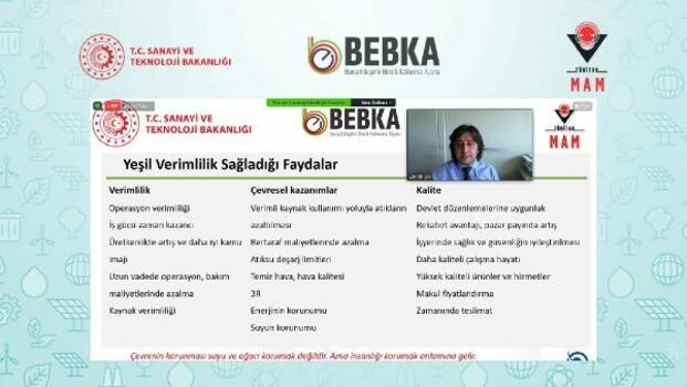BEBKA, yeşil verimliliğini anlattı