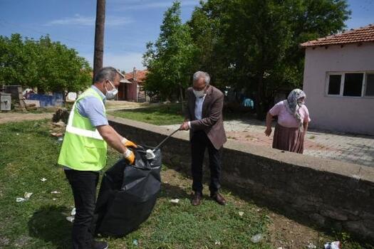 Keşan Belediyesi, mahallelerde temizlik çalışması başlattı