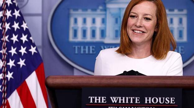 Son dakika... Beyaz Saray Sözcüsü Psaki'den istifa sinyali