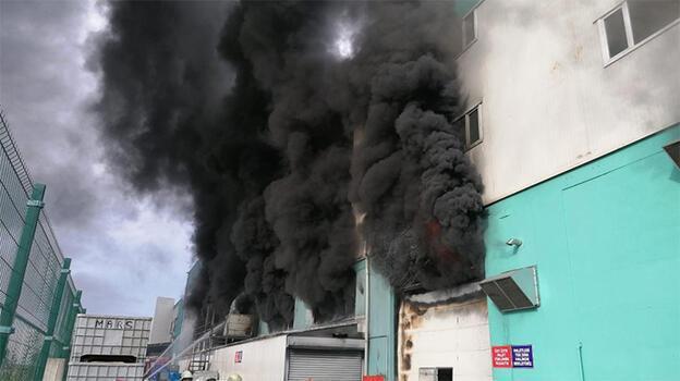 Son dakika: Silivri'de fabrikada yangını! Ekipler oraya sevk edildi