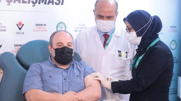 Son dakika! Bakan Varank yerli aşının 2.dozunu oldu