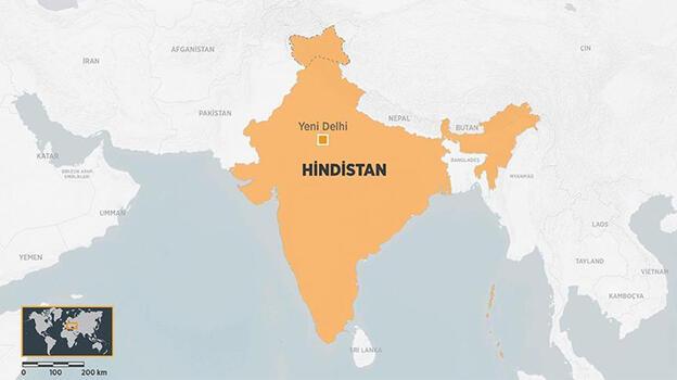 Hindistan'da taş ocağında patlama