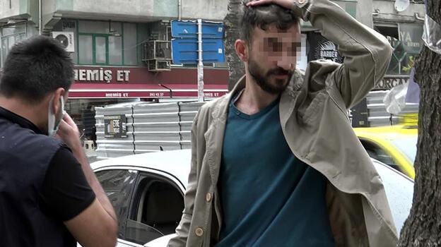 Polisten kaçtı, ceza yemekten kaçamadı!