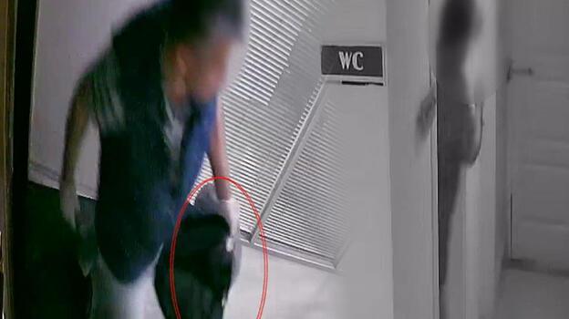 Çalıştığı iş yerinin kasasını soyan muhasebeci kameralara yakalandı!