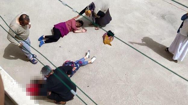 Gelin-görümce 2'nci katın balkonundan düştü!