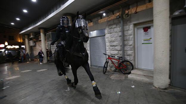 Son dakika... İsrail polisinden Şam Kapısı'nda Filistinlilere saldırı!